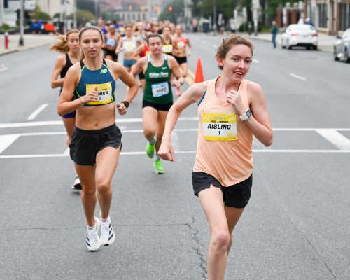 Aisling Cuffe wins Freihofer's Run for Women