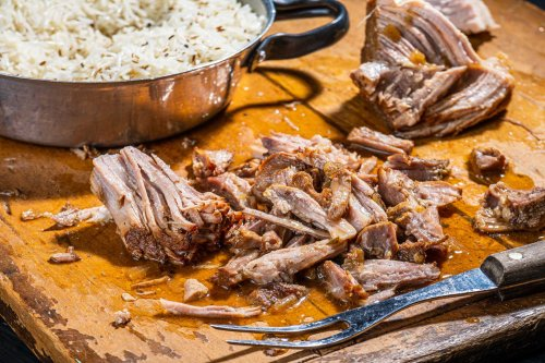 Cider-braised pork shoulder goes from weekend project to weeknight dinner in the Instant Pot