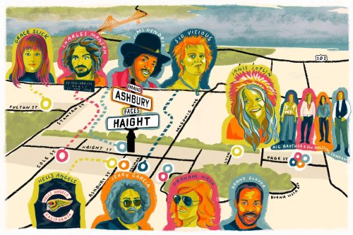 The most famous (and infamous) houses of Haight-Ashbury