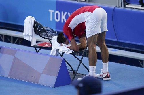 Novak Djokovic's Olympic meltdown shows hypocrisy of his Simone Biles criticism