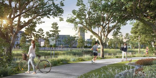 George Bush Intercontinental Airport will be receiving a $1.3 billion facelift, and Generation Park announces massive trail in development