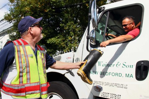 In photos: Byram supports firefighters in stuff-a-boot fundraiser