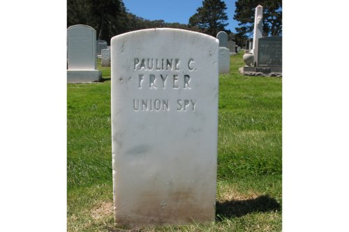 'UNION SPY': The forgotten tale of the Presidio's most intriguing grave
