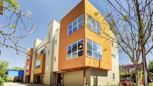 Guess the rent of this artsy three-story townhouse in Montrose