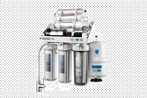 These reverse osmosis water filter is on sale and filters out absolutely everything