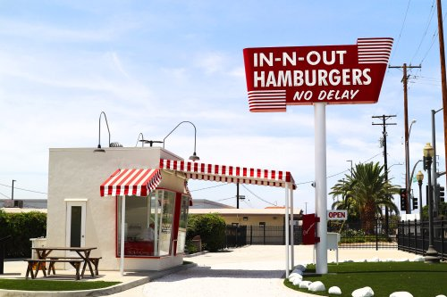 I road-tripped to In-N-Out's hamburger museum in Los Angeles