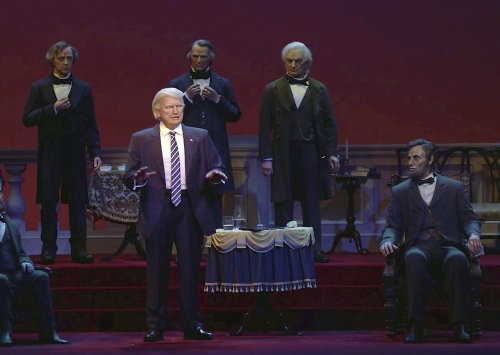 Disney World's Hall of Presidents update is not kind to Donald Trump
