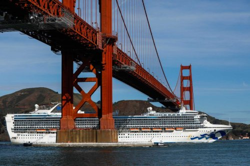 Stricken Grand Princess docked off Bay Area as COVID was just hitting. Now it's back at sea
