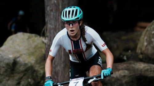Typhoon upends Kentfield mountain biker Kate Courtney's bid for Olympic gold