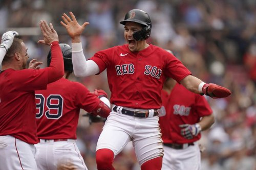 Red Sox end Germán's no-hit bid in 8th, storm past Yanks 5-4