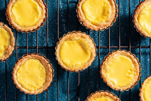 With a flaky crust and delicate filling, Chinese egg tarts evoke sweet memories and a fusion cuisine