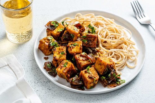 This vegan take on India's chicken 65 delivers crispy fried tofu minus the splatters