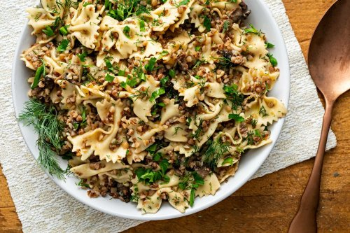 Kasha varnishkes turns humble buckwheat, pasta and onions into something extra special
