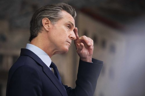 Newsom's biggest challenger in the recall election may be himself