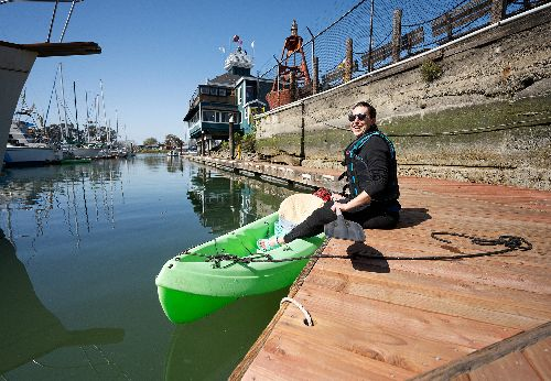You can kayak to a 131-year-old Bay Area lighthouse for paddle-up Bloodys
