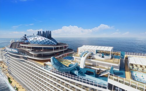 'Wow-factor' cruise ship setting sail from Galveston has multi-level go-kart track