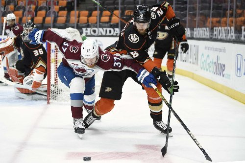 The Latest: Hurricanes, Ducks swap defensemen