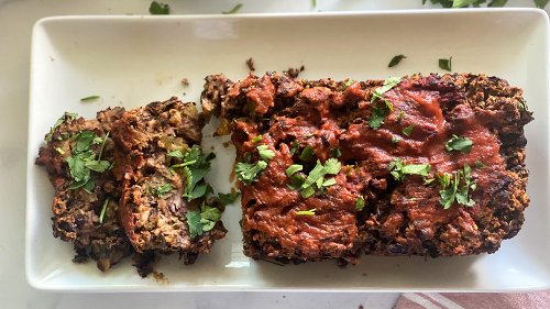 Healthy Vegetarian Meatloaf With Beans Recipe Is The Ultimate Meal