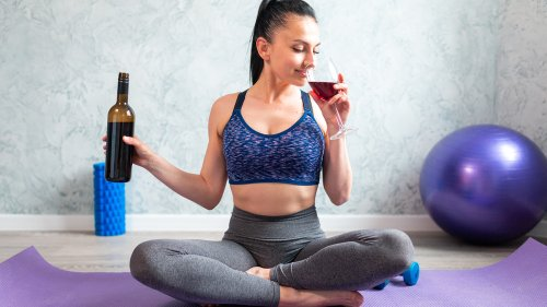 Drinking Red Wine After Exercising Could Have Some Benefits