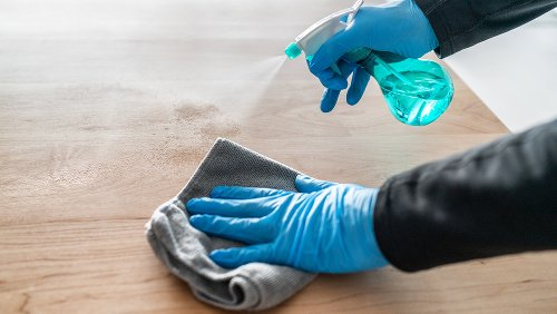You Probably Don't Need To Sanitize Everything For COVID Protection. Here's Why