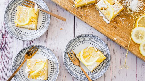 Rich And Creamy Lemon Bars Are Your New Favorite Dessert