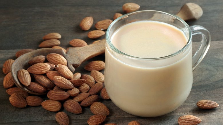 What Drinking Almond Milk Every Day Does To Your Body