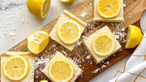 Healthy Lemon Bars Recipe With Rolled Oats Recipe