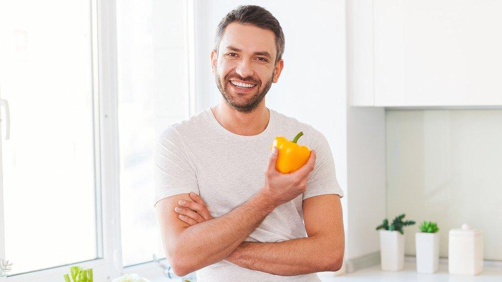 Discover eating vegetables