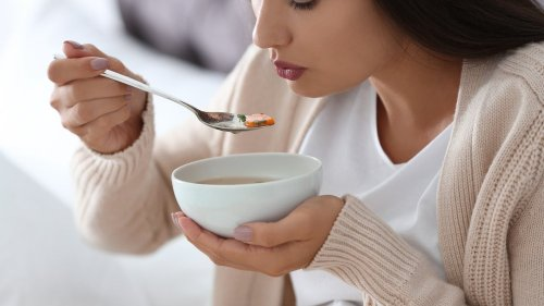 Don't even try to eat these foods when you're sick