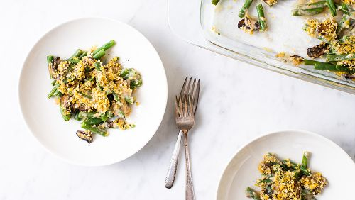The Healthy Green Bean Casserole Your Family Will Beg For