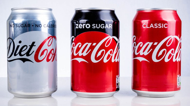 The Big Difference Between Coke Zero And Diet Coke
