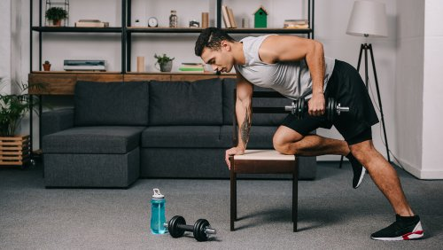 Why You Should Think Twice Before Lifting Weights At Home