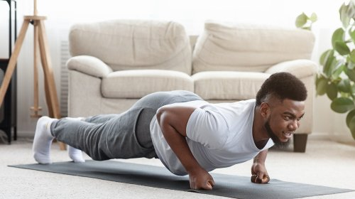 The Glute Trick That Will Totally Change Your Plank