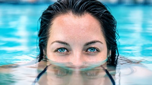 Think Twice Before You Open Your Eyes Under Water. Here's Why