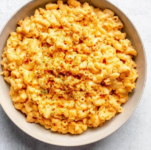 Vegan Mac and Cheese - Healthier Steps