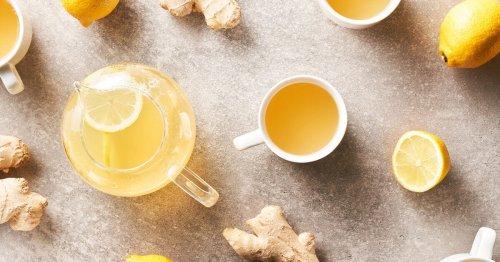 7 Benefits of Drinking Lemon-Ginger Tea Before Bed