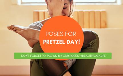 Twisting Yoga Poses for Pretzel Day