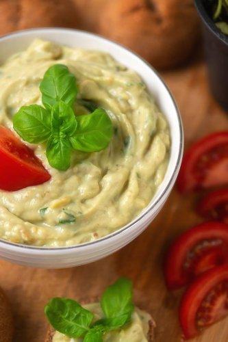 Gemüse Dip mit Blumenkohl (nussfrei)