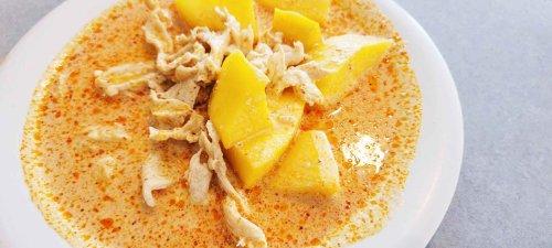 Super Easy Mango Curry