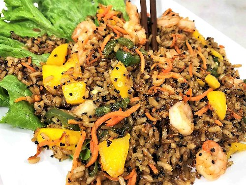 Quick and Dirty Thai Style Mango Fried Rice
