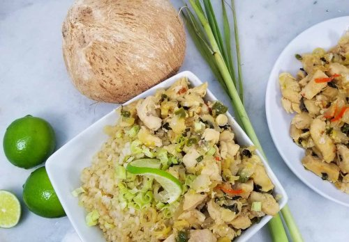 Instant Pot Lemongrass Coconut Lime Chicken