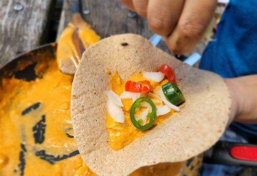 Campsite Thai Red Curry Fish Tacos