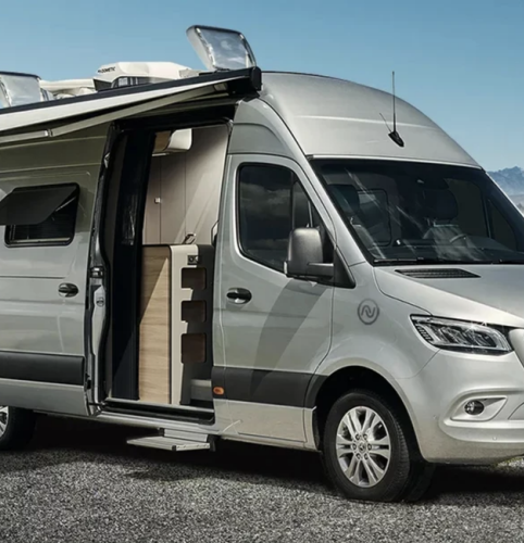 This Insane Camper Van Is Big Enough (and Nice Enough) to Be Your House