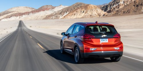 Chevrolet Bolt EV vs. Death Valley: Range Anxiety in a Hot Seat