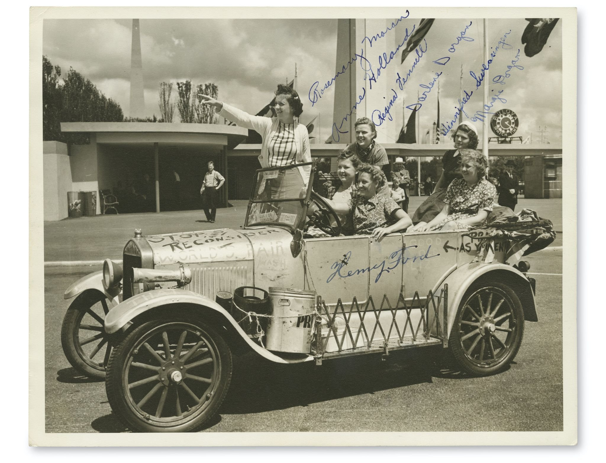 The Story of an All-American Car and the Fearless Female Road-Trippers Who Drove It