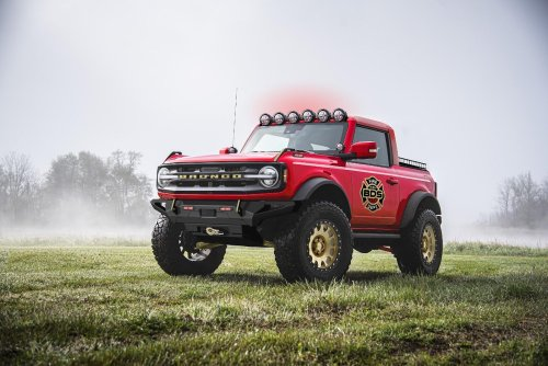 These custom Broncos just revealed by Ford are wild