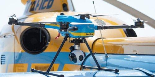 Todo sobre los 39 drones que ya usa la DGT: Así funcionan... y multan