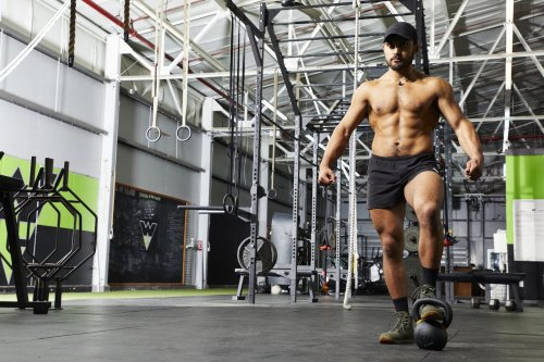This One-Arm Kettlebell Flow Will Build Up Your Back