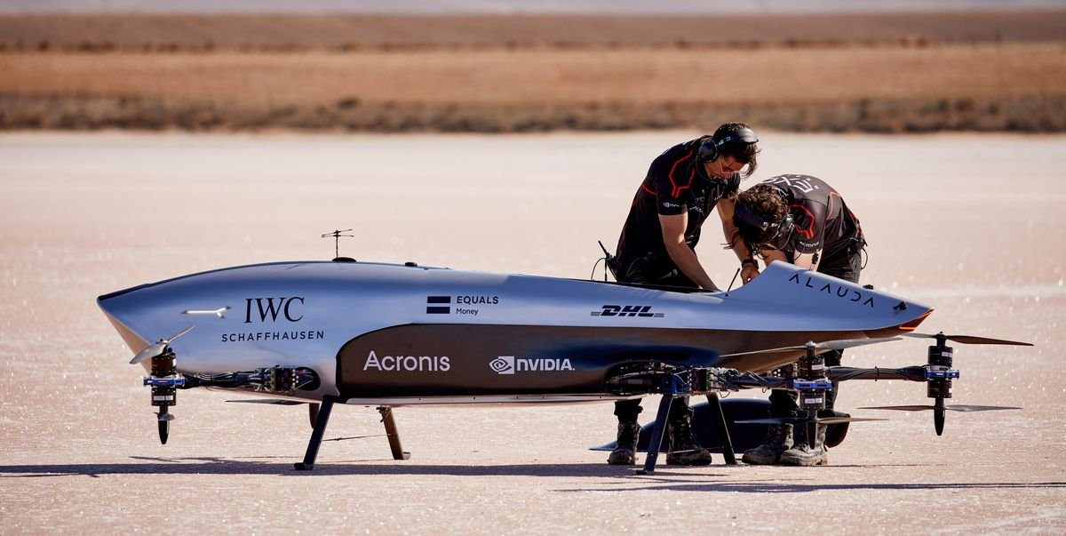 IWC Is Partnering with a Flying Car Racing Series