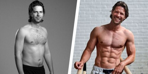 This Man Transformed Himself Into a Men's Health Cover Model in 6 Months